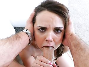 Dillion Harper Fucks A Big Cock Guy Until He Cums