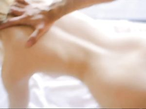 Pretty Teen Face Covered With A Thick Cumshot