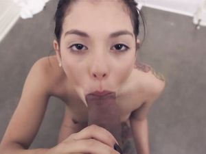 Homemade POV Teen Porn With A Fresh Faced Brunette