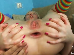 Hard Anal For A Skinny Teenage Girl In Her Bedroom