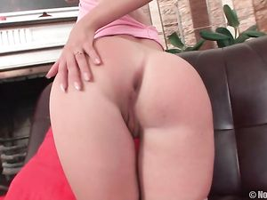 Teen DD Cups Are All Natural On This Slender Girl