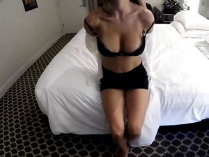 Hot And Busty Escort Takes His Dick In The Hotel