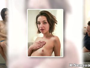 Tiny Tits Euro Girl Fucked Up Her Tight Asshole