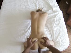 Flawless Body Babe Sits On His Dick And Rides It