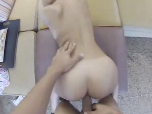 Teen Ass Looks Great In A POV Hardcore Fuck