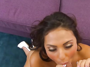 Sweet Smiling Girl Is Eager To Suck Your Hard Dick