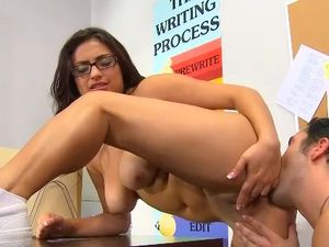 Curvy Nerd And Her Horny Classmate Fucking