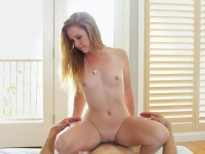 Teen Fingers Her Cunt As He Watches And Gets Horny