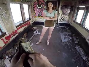 Teen Fucks For Cash In A Filthy Abandoned House