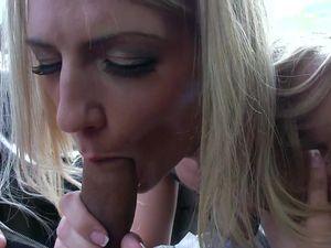 Amanda Tate Flashes In Public And Fucks In Private